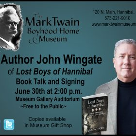 Upcoming Book Talk and Signing Event with John Wingate